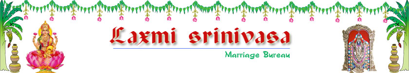 Laxmi Srinivasa Matrimonials for Arya Vysya and Brahmin Community